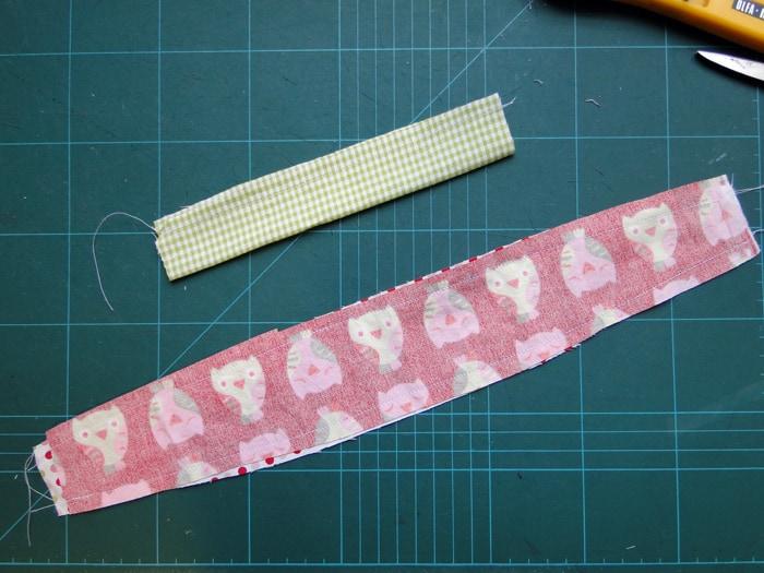 Haarband für Mädchen nähen