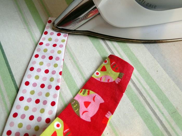 Mädchenhaarband DIY bügeln