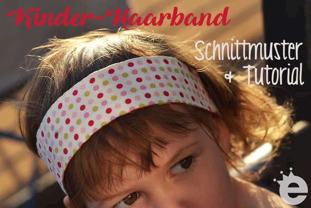 Kinder-Haarband Gratisschnitt Freebie