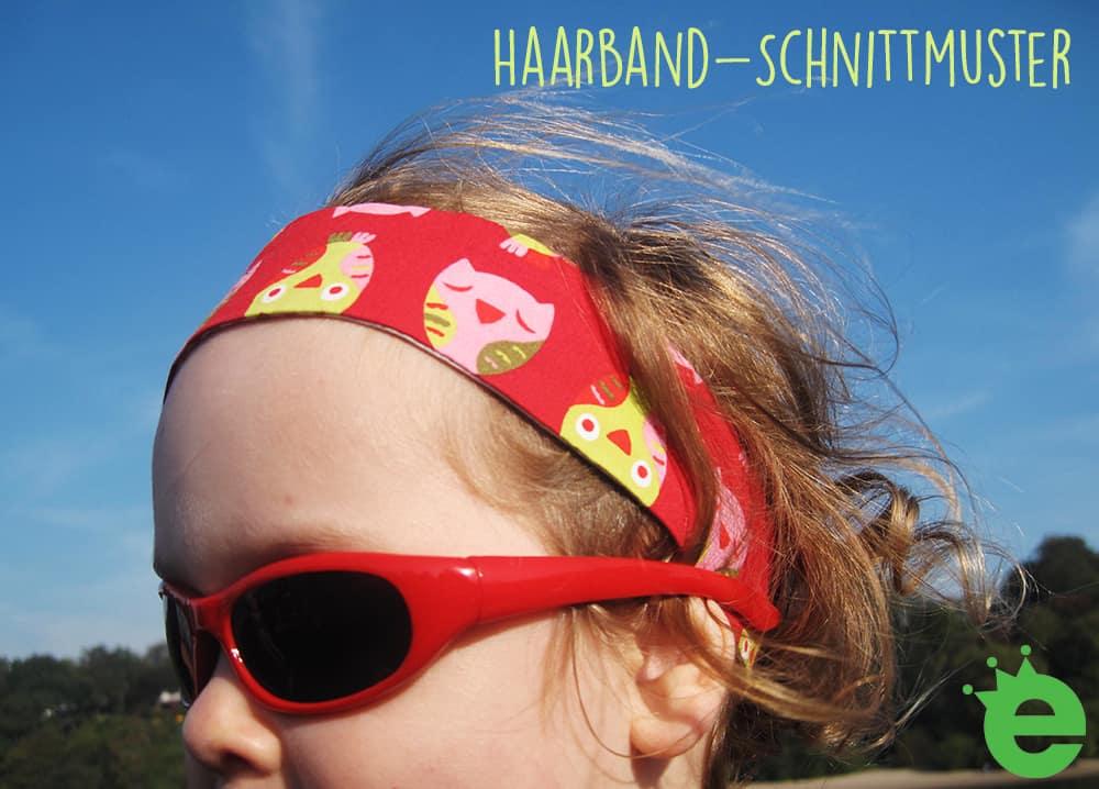 Kinder-Haarband Schnittmuster & Tutorial