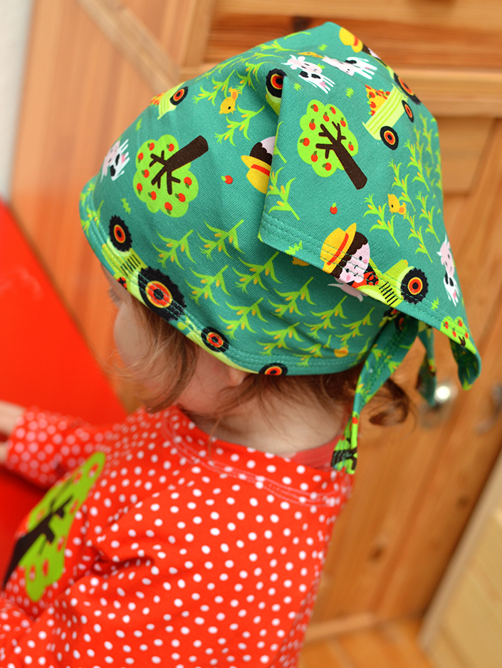 Kopftuchmütze aus Jersey nähen