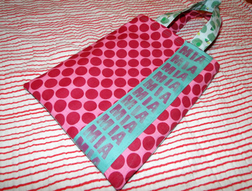 Minitasche aus baumwolle für Kinder nähen