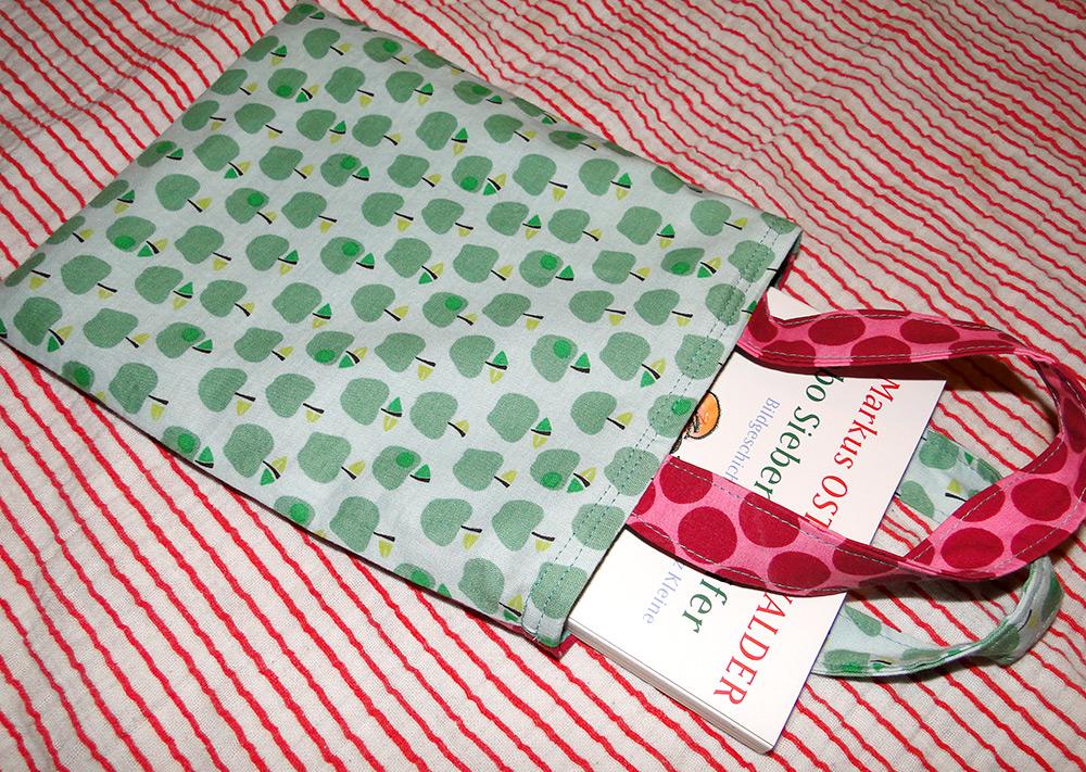 Idee: Kleine Kinder-Tasche als Geschenkverpackund nähen