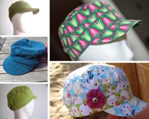 Coole Kappe Schnittmuster für ein Sommer-Cap, sonnenkäppi