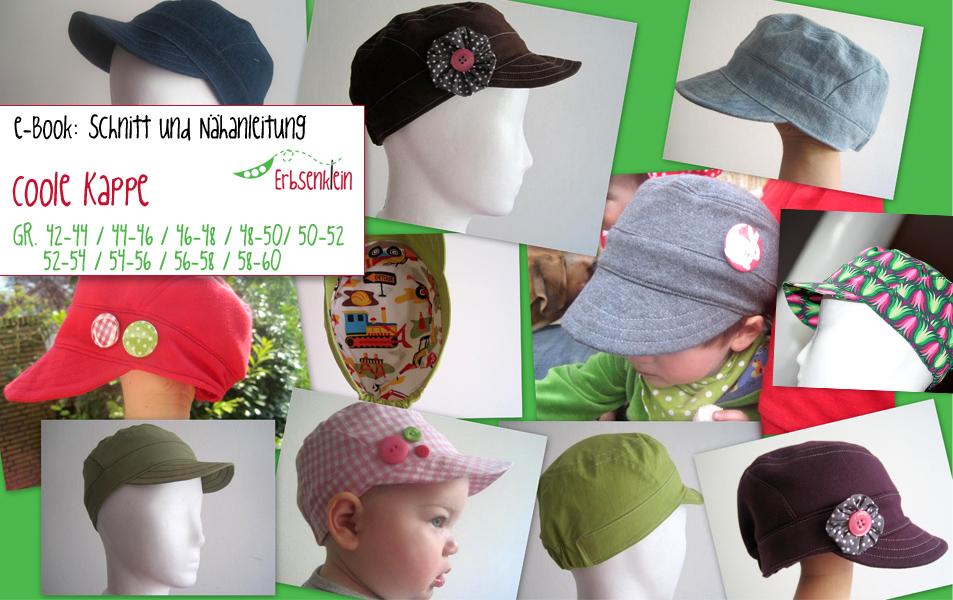 Coole Kappe: Schirmmütze selbernähen aus baumwolle