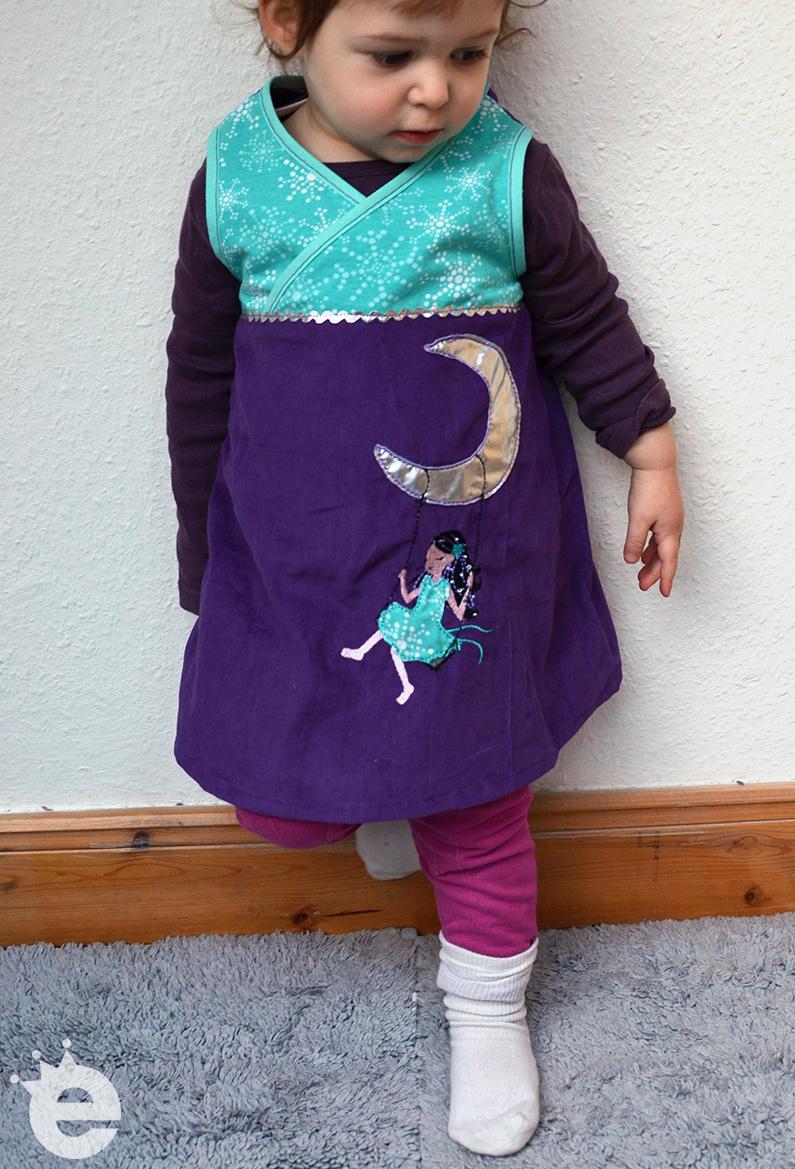 Anfänger-Schnittmuster: Baumwoll-Kleidchen nähen