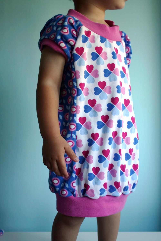 Jerseykleid von Nähschmiede, Schnittmuster: Erbsenprinzessin