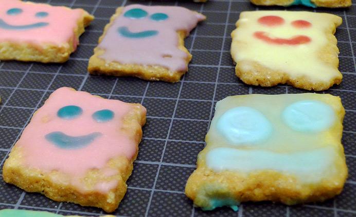 Simley-Kekse: Lustige Plätzchen nicht nur zu Weihnachten