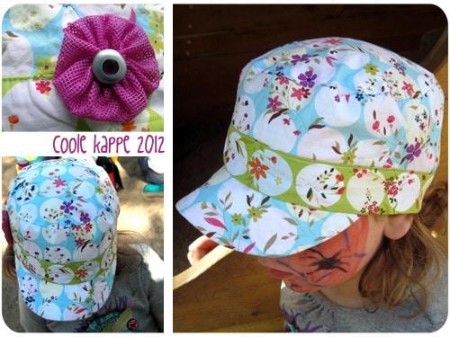 Coole kappe: Sonnen-Cap für Mädchen nähen