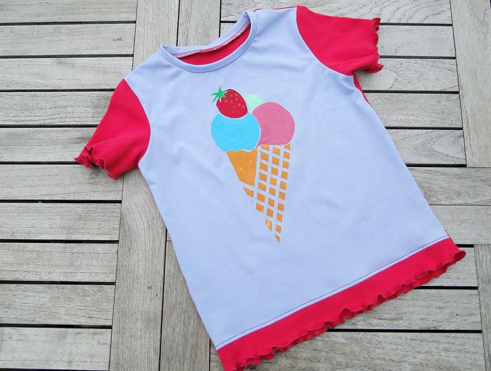 Kindershirt selber bedrucken