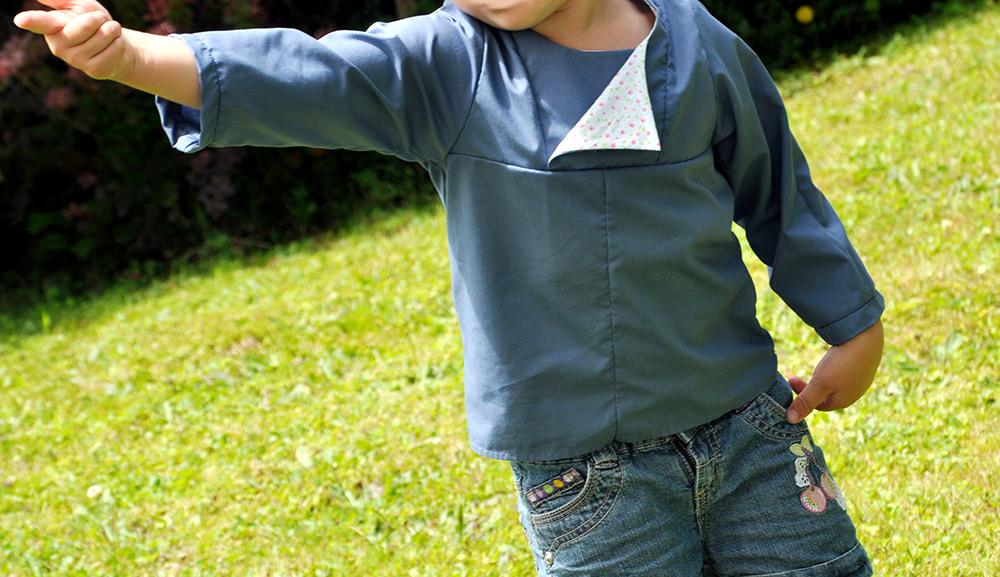 Lieblingshemd, Bluse für Kinder aus Baumwolle nähen