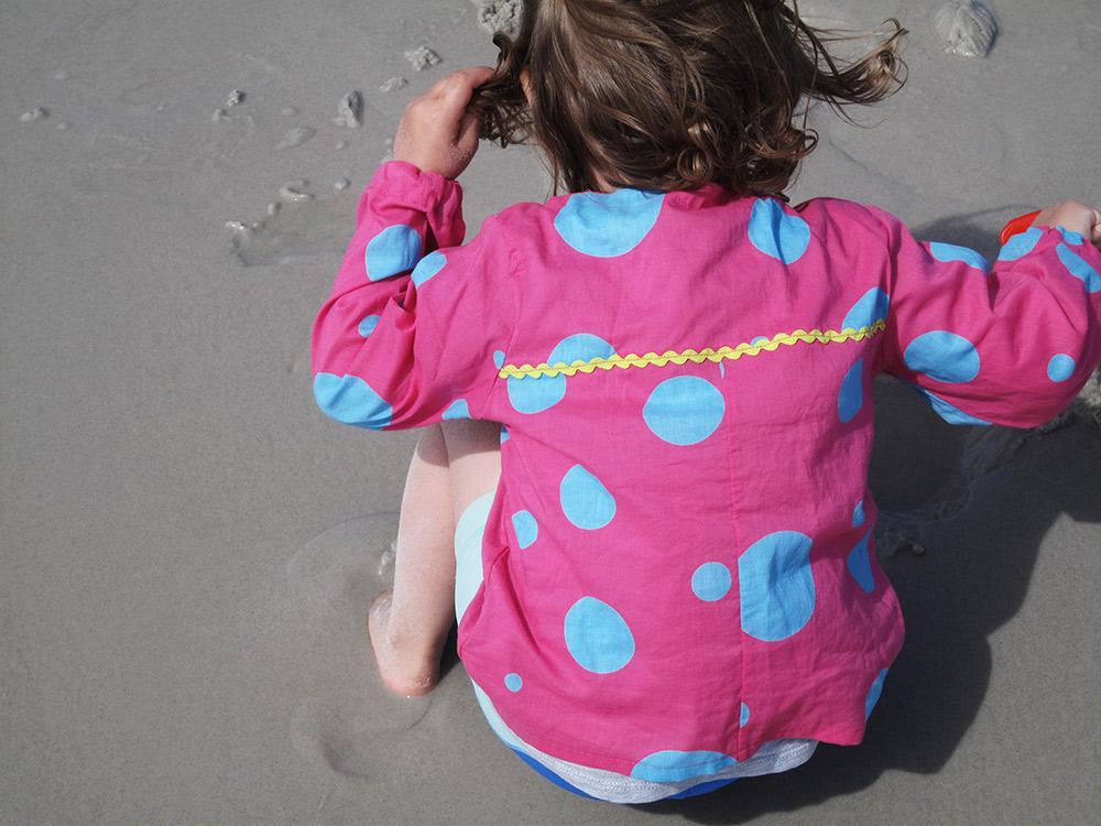 Baumwollhemd für den Strand nähen für Kinder