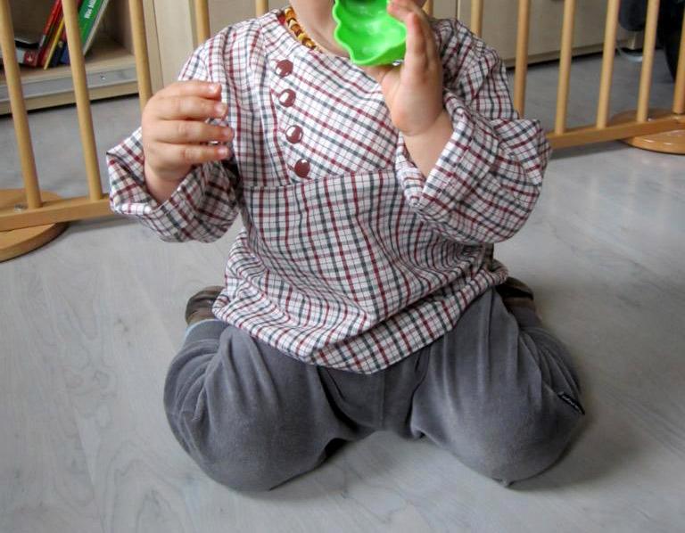 lieblingshemd für babys nähen: Schnittmuster