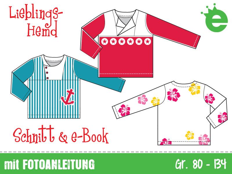 Lieblingshemd: Hemden-Schnittmuster für Kinder