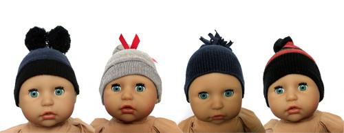 Puppenmütze aus Socke selber machen
