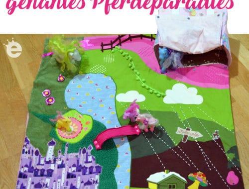Spiellandschaft für Plastikpferde selber nähen