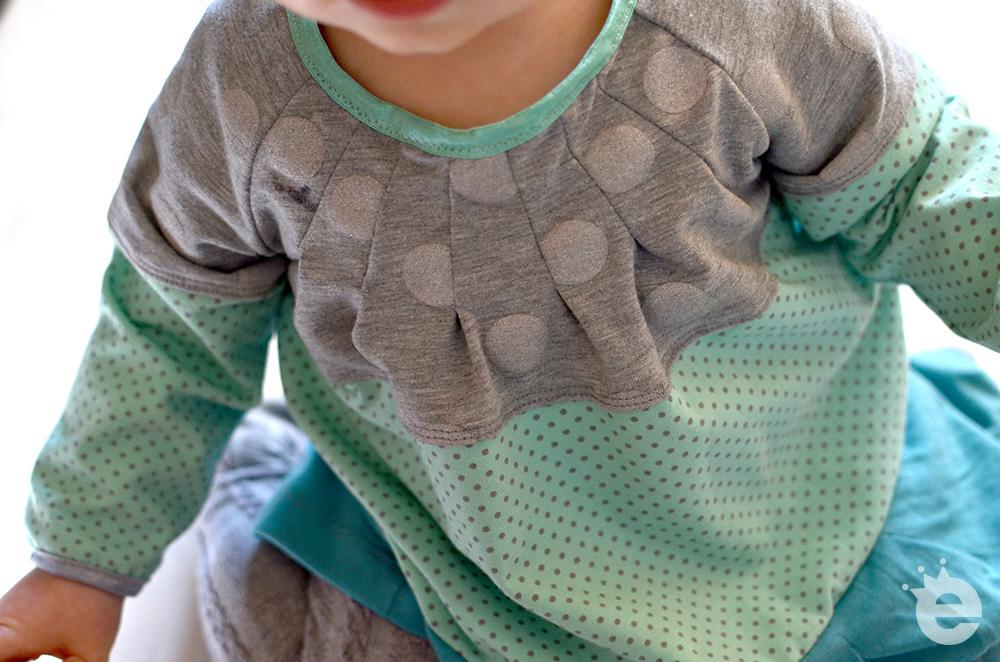 Falten-Raglanshirt: Lässiges Jerseyshirt nähen für Kinder
