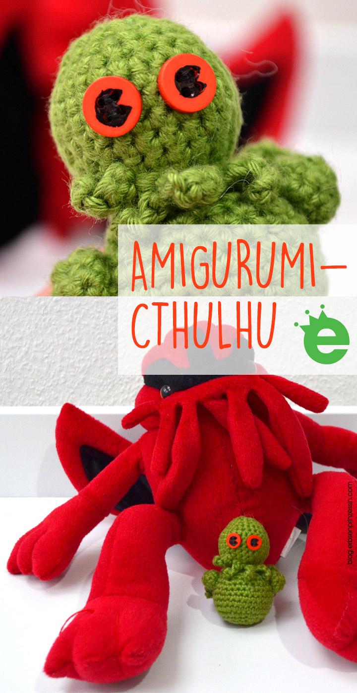 Amigurumi Cthulhu: Lovecraft Figur häkeln, Häkelmonster DIY