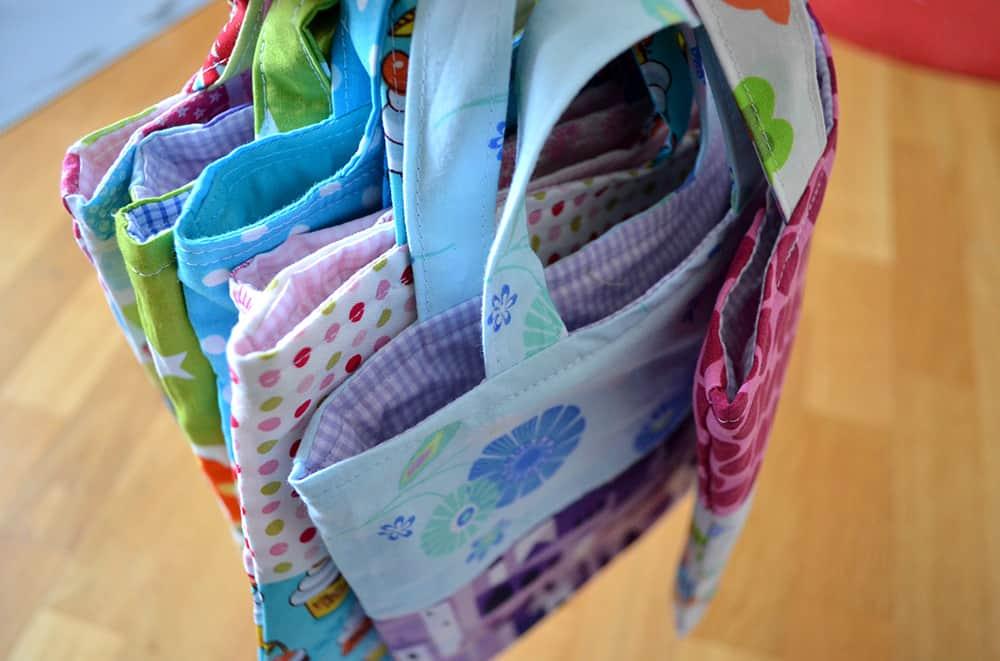 Einkaufstaschen für Kinder nähen