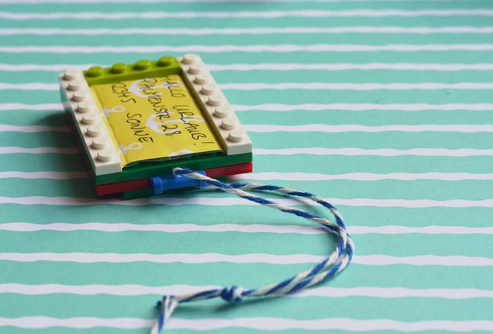 Kofferanhänger aus Lego