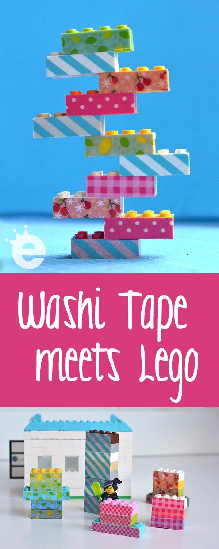 Washi Tape meets Lego