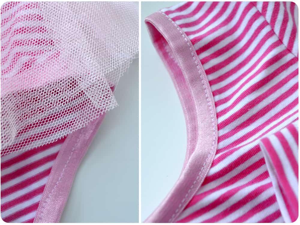 Balelttanzug für Kinder selber nähen mit Röckchen