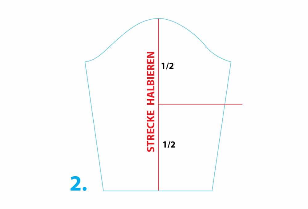 Shirt-Schnitt vor dem Nähen ändern: Ärmellänge