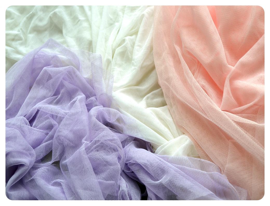 Tüll für den Rock des Mädchen-Ballettanzugs, welche Stoffe sind geeignet