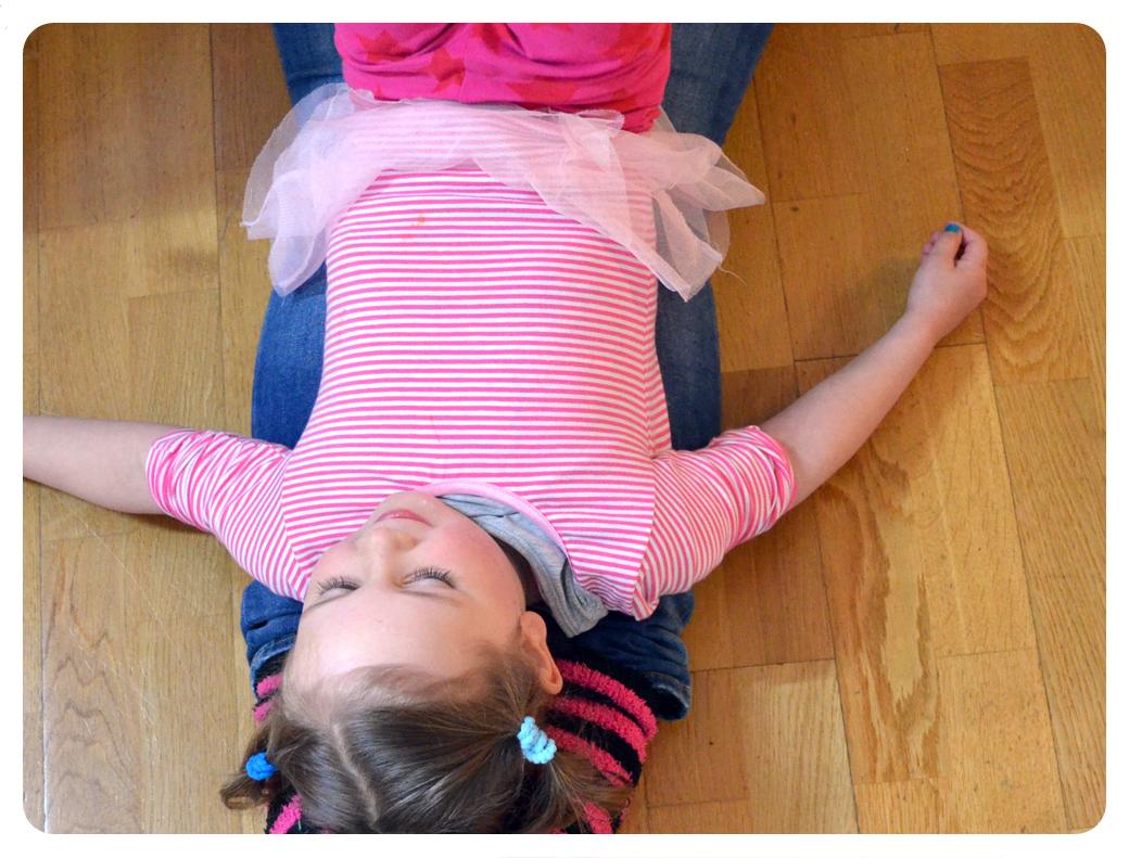 Ballettanzug für Mädchen selber nähen: Schnittmuster und e-Book
