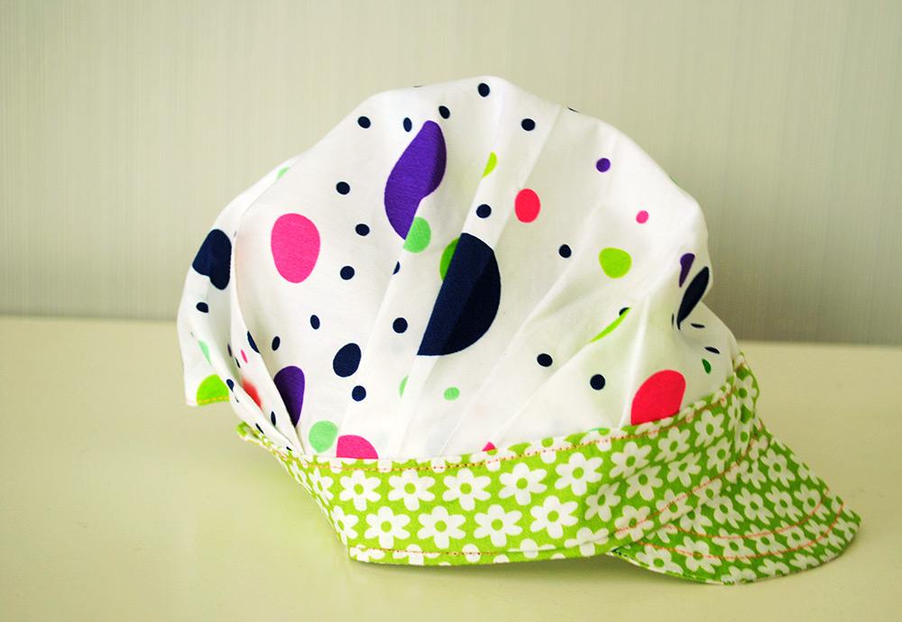 Schnittmuster falten-Mütze für Kleinkinder