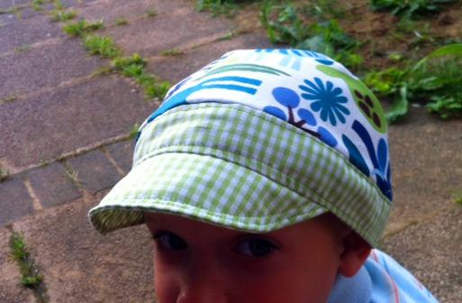 Schnittmuster Schirmmütze für Kinder