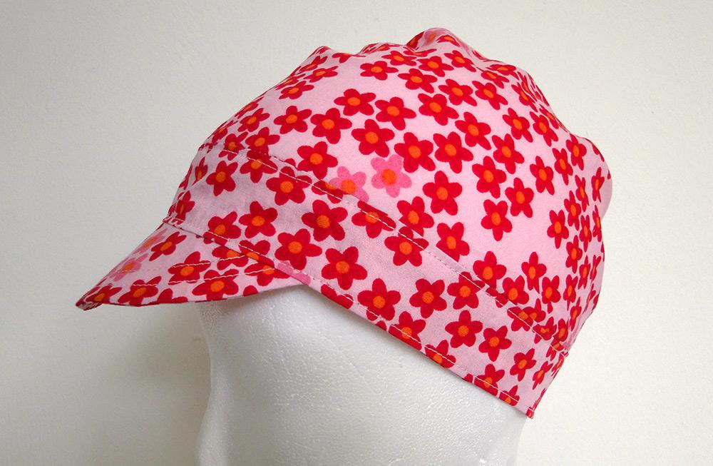 Mützenschnitt für gewebte Stoffe: Falten-Mütze