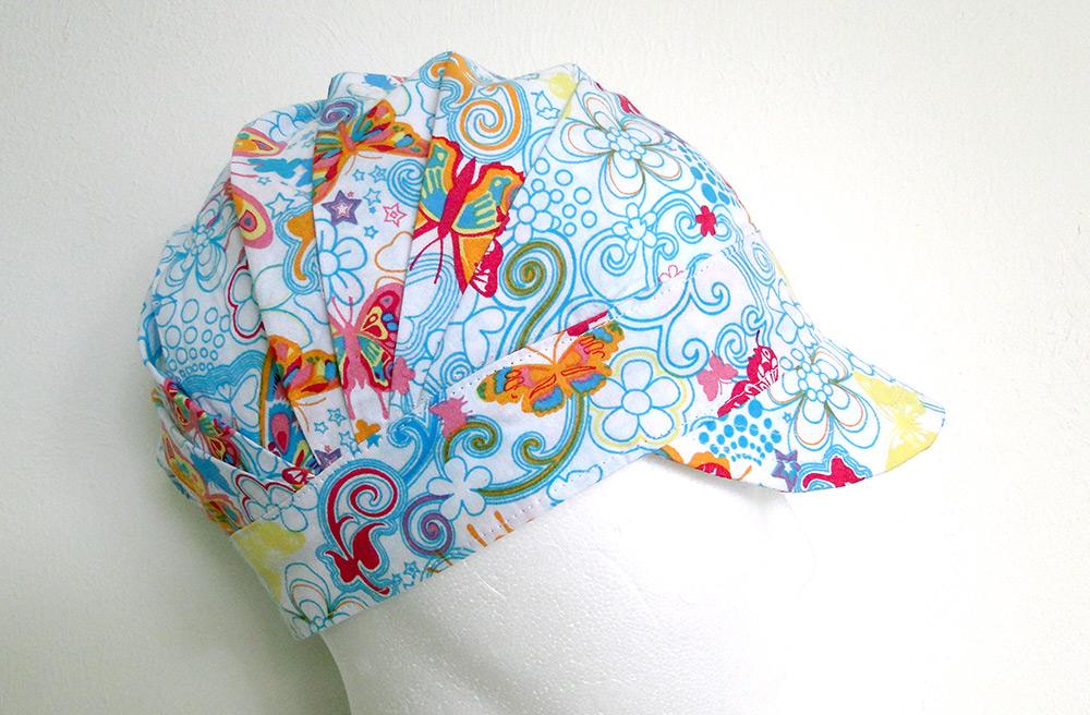 Käppischnitt faltenmütze für baumwolle