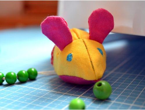 genähte Zähl-Maus für die Schultüte