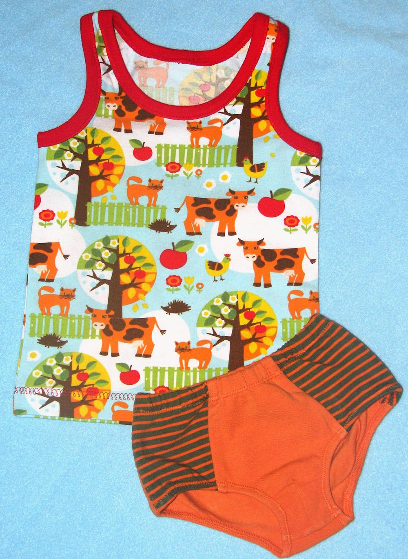 Unterhemd und Slip für Kleinkinder nähen: Drunter boys für Jungs