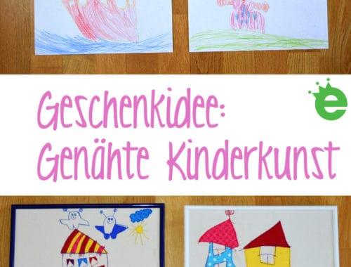 Geschenkidee: Genähte Kinderkunst