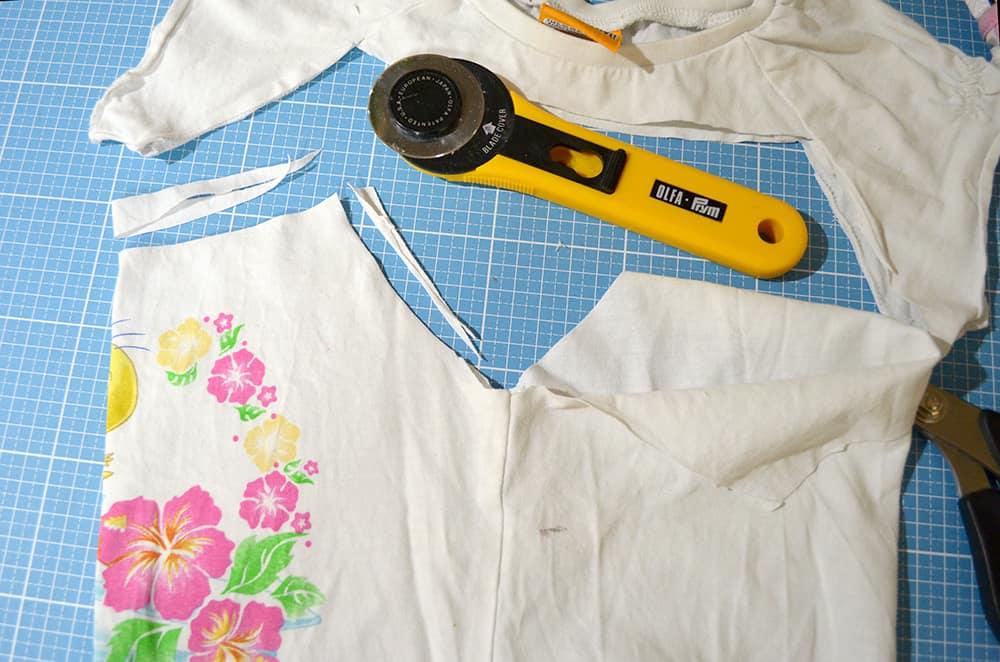 T-Shirt recyclen: Unterhemd nähen
