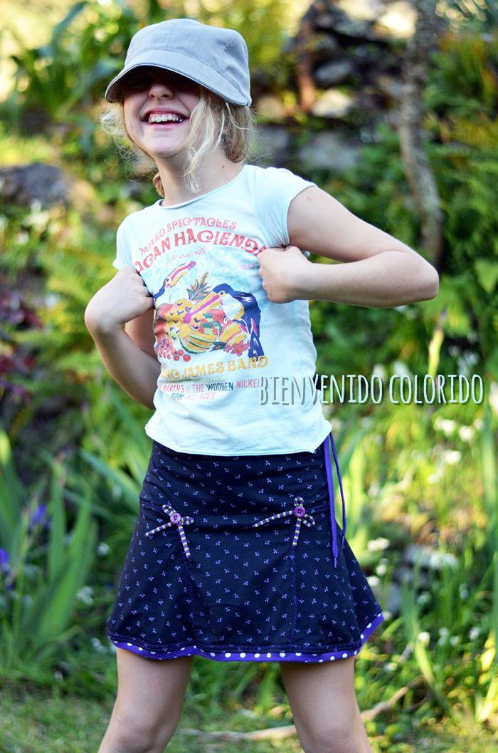 Jerseyrock für Mädels selbernähen: Schnittmuster und ebook