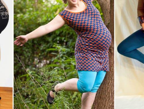 Leggings *schwanger - Schnittmuster und e-Book von erbsenprinzessin