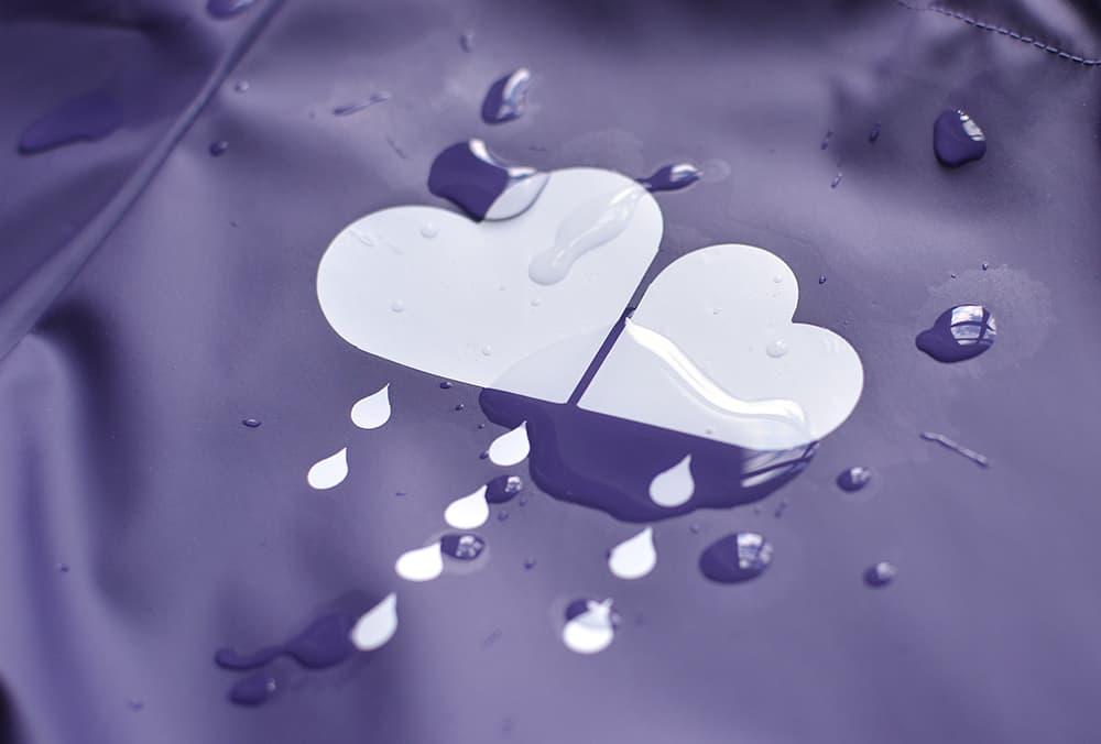 Plotten auf regenstoff / PUL
