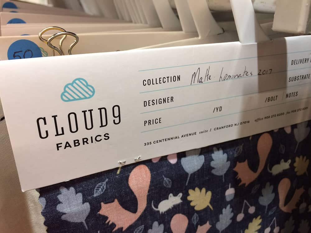 matter wasserdichter Stoff von cloud9 fabrics aus den USA