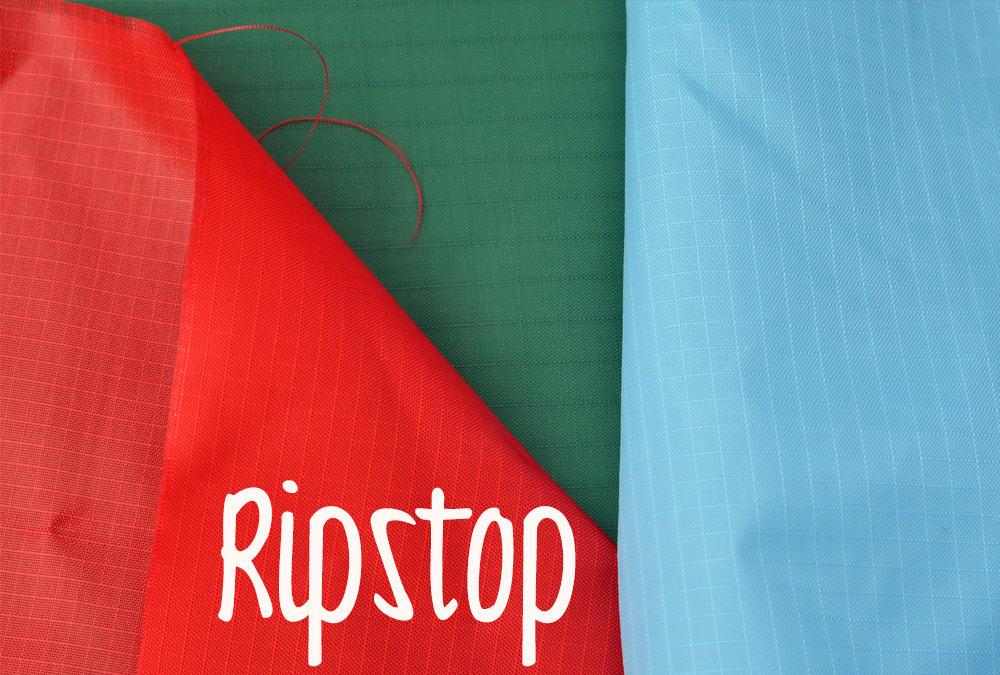 Ripstop: Wasserdichter Stoff mit Kästchenstruktur