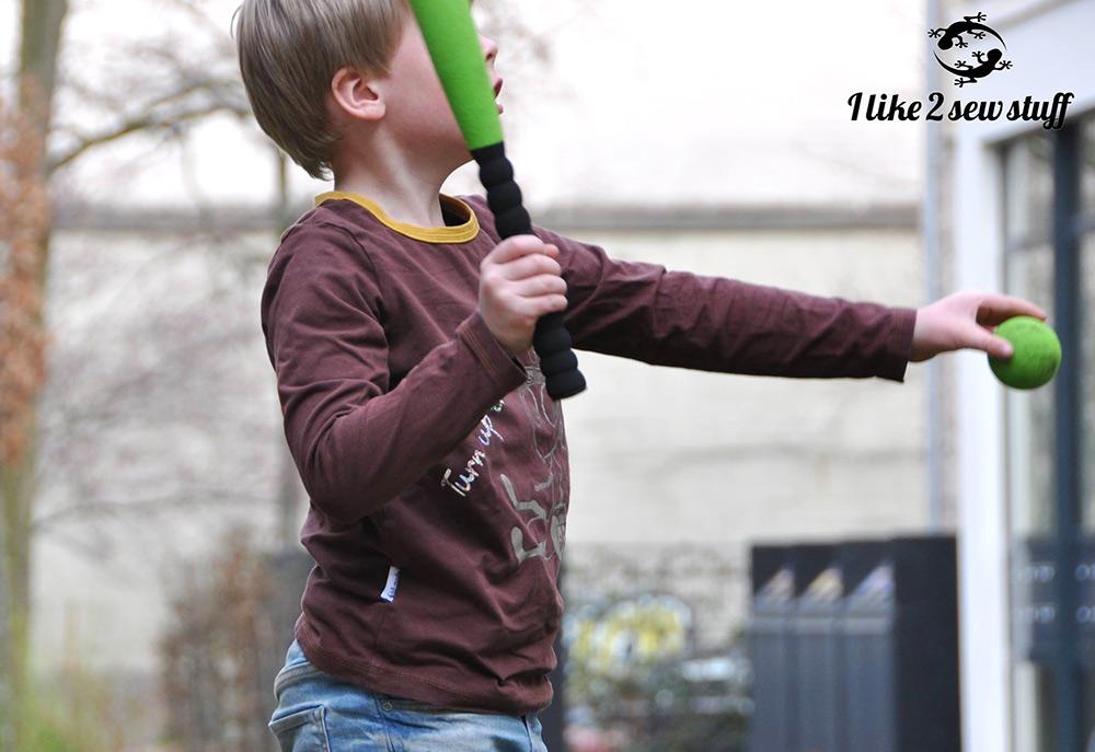 Langarmshirt für jungs: Schnitt und Nähanleitung