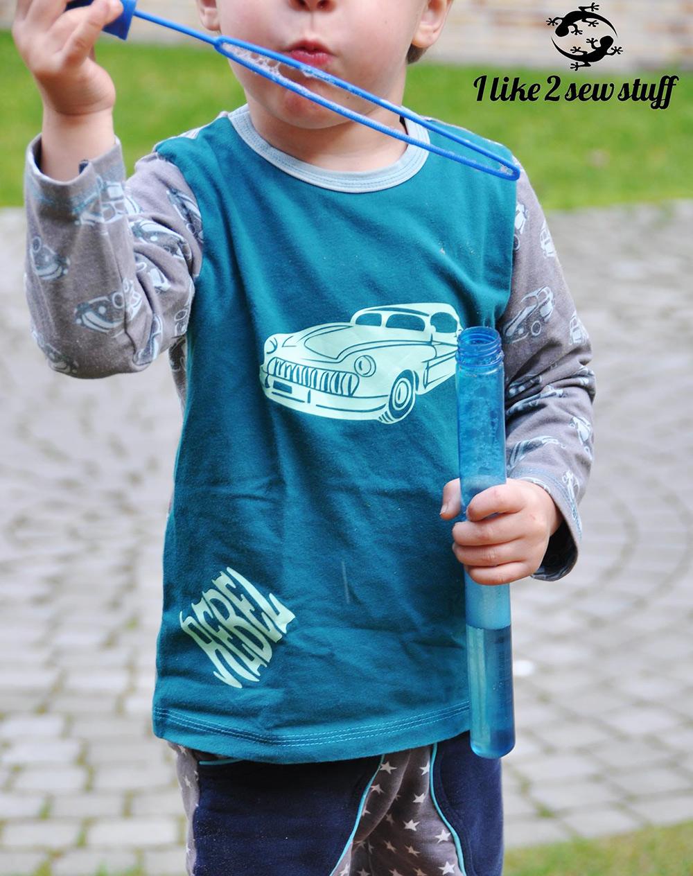 Kinder-shirt für jungs und Mädchen nähen