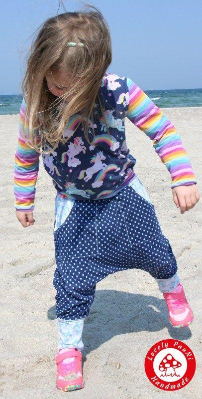 Jerseyshirt für kinder: Schnittmuster und Nähanleitung