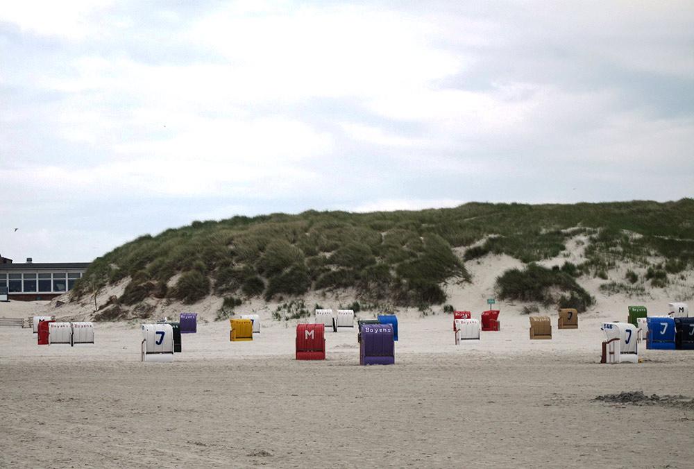 Strand auf Amrum: Norddorf
