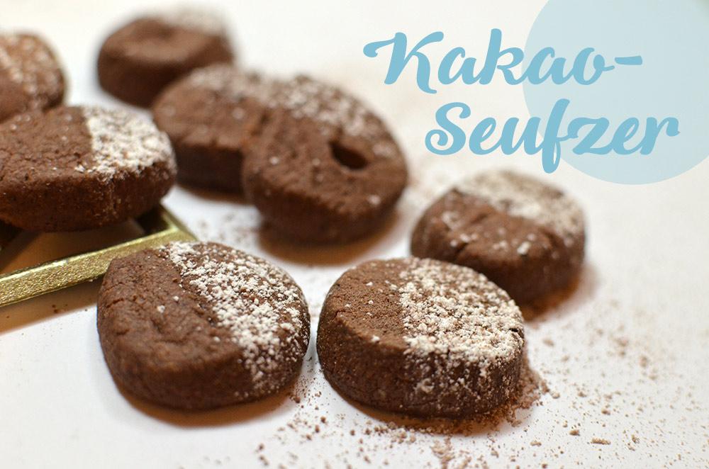 Rezept für schokoladig-zarte Weihnachtsplätzchen
