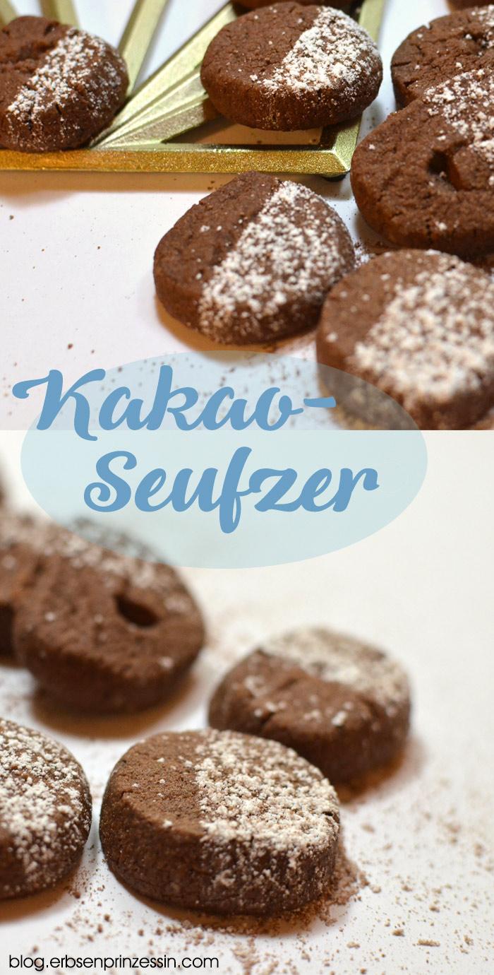 Kakaoseufzer: Die zergehen auf der Zunge! Schokoladiges Plätzchenrezept für Weihnachten, geht auch vegan
