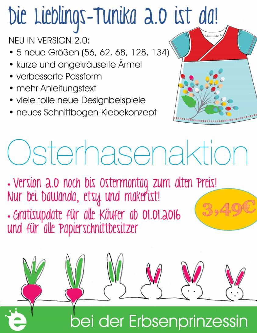 Osterhasenaktion Lieblings-Tunika