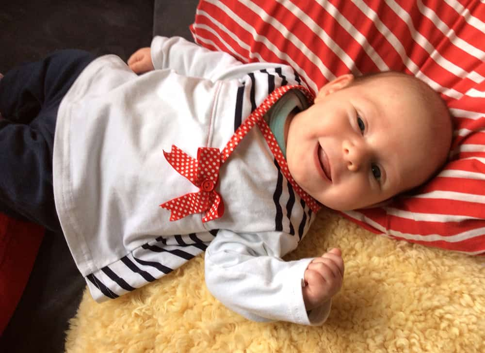 Babytunika-Schnittmuster und Nähanleitung